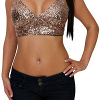 Honey Pot (Gold)-Great Glam is the web&#x27;s best online shop for trendy club styles, fashionable party dresses and dress wear, super hot clubbing clothing, stylish going out shirts, partying clothes, super cute and sexy club fashions, halter and tube tops, b