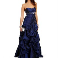 Narcissa- Navy Prom Dress