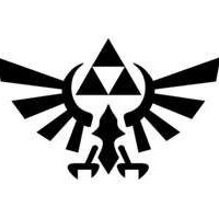 Zelda Triforce Phone Decal