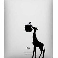 A Giraffe Vinyl Decal for Your Ipad | Luulla