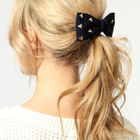 Marina Stud Bow Hair Clip