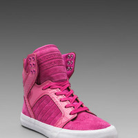 Supra Pink Party Skytop Sneaker in Pink from REVOLVEclothing.com