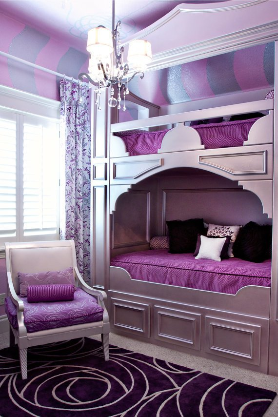 Bunk Beds Furniture For Girls Room