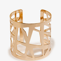 Cutout Geo Cuff