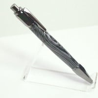 Vertex Gun Metal Authentic Black Lava Click Pen