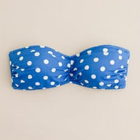 Hot dot bandeau top - swim - Women&#x27;s online shops - J.Crew