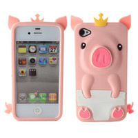 LIGHT PINK CUTE PIG SILI...