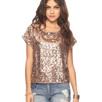 Oversize Sequined Top | FOREVER21 - 2000042254