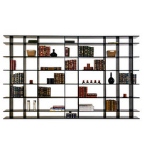 10&#x27; Wide Classic Bookshelf 0610f002