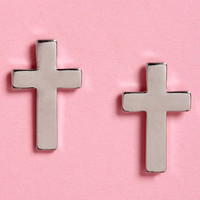 Holy Moly Cross Earrings
