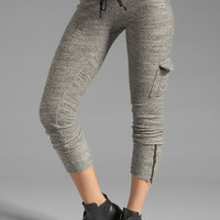 Michael Lauren Warren Cargo Sweatpant in Stone from REVOLVEclothing.com