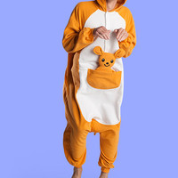 Kangaroo animal Onesuit