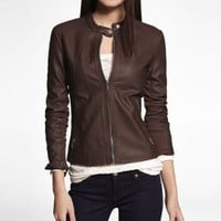 (MINUS THE) LEATHER MOTO JACKET at Express