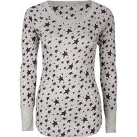 FULL TILT Essential Print Womens Thermal 184200766 | l/s tees & thermals | Tillys.com