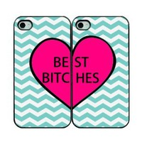 Amazon.com: Best Bitches Two IPhone Cases - IPhone 4/4s Cases - Black: Cell Phones & Accessories