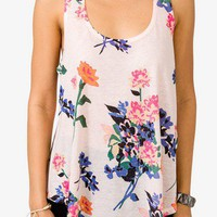Floral Print Racerback | FOREVER 21 - 2036546907