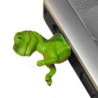 ShanaLogic.com - 100% Handmade & Independent Design! Dinosaur USB Flash Drive - New Arrivals