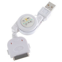Retractable USB Ladekabel für iPod / iPhone 3G/3GS (hf254) - US$2.77