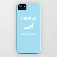 Disney Princesses: Cinderella Minimalist iPhone Case by Ofalexandra | Society6
