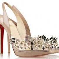 Christian Louboutin Pik Pik Pik 120 Studded Sandals Outlet