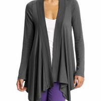 Splendid Basic Very Light Jersey Drapey Cardigan | Piperlime