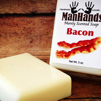 ManHands Manly Scented Soap | Uncrate