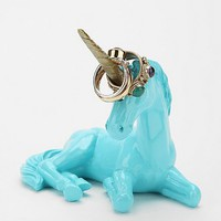 Plum & Bow Unicorn Ring Holder- White One