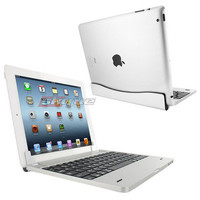 Aluminium Bluetooth Wireless Keyboard Cover Case Stand For Apple iPad 2 3 3rd 4