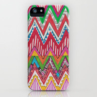 Peruvian Waves iPhone Case by Vasare Nar | Society6