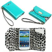 Amazon.com: JAVOedge Leopard Wallet Case for the Samsung Galaxy S3 (Turquoise): Everything Else