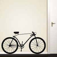 Bike Profile Decal - Decals - Wall