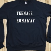 """Teenage Runaway"" CREW NECK  - Fangirl Merch"