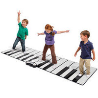 The World&#x27;s Largest Toe Tap Piano - Hammacher Schlemmer