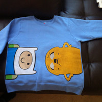 Adventure Time Sweater by aaamariex on Etsy