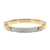 Michael Kors Pave Hinge Bracelet, Golden - Michael Kors