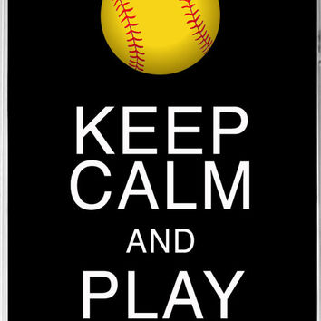 iphone 44s case keep calm and play on from kady mason