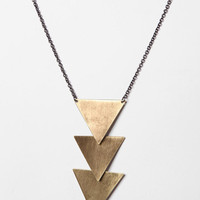 Urban Outfitters - Tiered Geometric Necklace