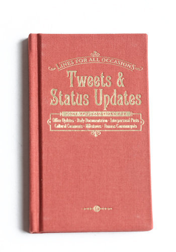 Tweets & Status Updates For All Occasions - $9.00 : ThreadSence.com, Your Spot For Indie Clothing & Indie Urban Culture