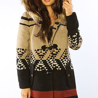 BB Dakota  Coat Arlet Hooded  Light Camel - Karmaloop