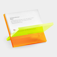 Neon X-Business Card Holder
