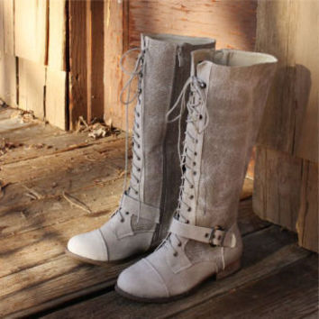 Lumberjack Lace-Up Boots, Sweet Country Inspired Shoes