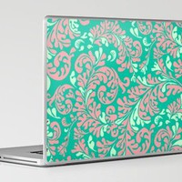 Vintage Wallpaper No.6 Laptop &amp; iPad Skin by Romi Vega | Society6