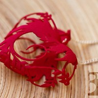 Blossom heart by vaclav.mazany on Shapeways