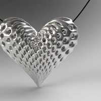 oh my heart ! by Novastar Design on Shapeways