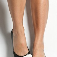 melissa - wanting ballet flats shoes (black white bow) - Melissa | 80's Purple