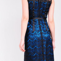 Luxury Lace and Silk Dress by YYStudio