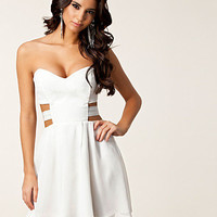 Metallic Strap Back Dress, Paprika