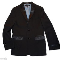 NWT Tommy Hilfiger Kids Boys Tuxedo Black Blazer Jacket