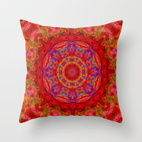 Circle of love Throw Pillow by JT Digital Art  | Society6