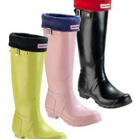 Hunter Welly Socks Black - Zappos.com Free Shipping BOTH Ways
